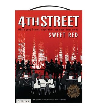 4th street red sweet cask