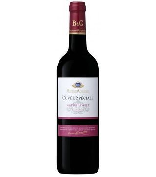 B&G cuvee speciale nature sweet red