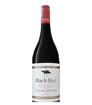 Black Bird Sweet Red