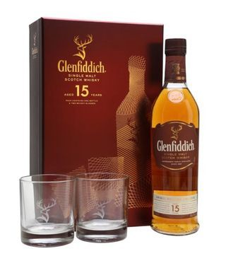 Glenfiddich 15 Years Gift Pack