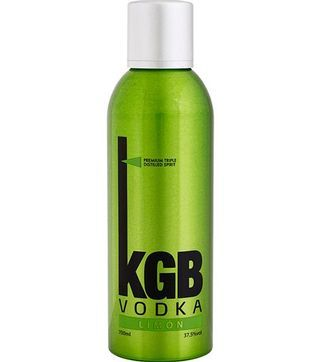 KGB vodka limon liqueur