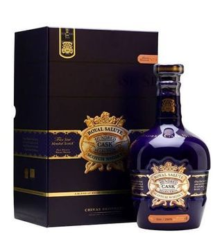 Royal salute hundred cask