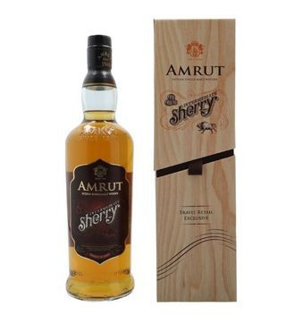 amrut intermediate sherry single malt indian whisky