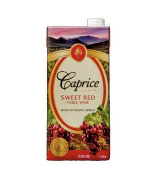 caprice red sweet cask