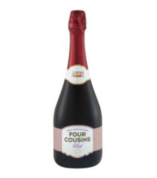 four cousins red sparkling wine
