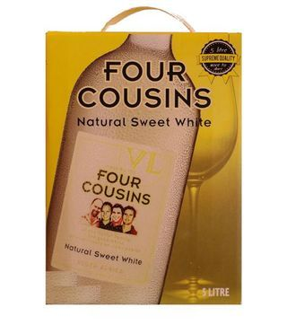 four cousins sweet white cask