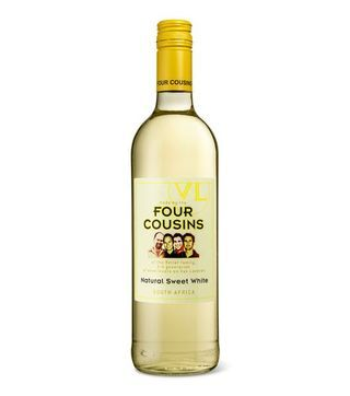 four cousins white sweet