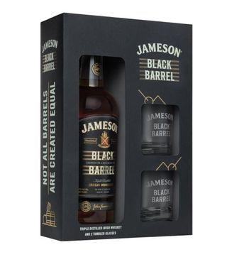 jameson black barrel gift pack