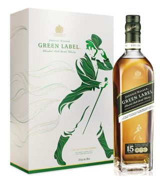 johnnie walker green label gift pack