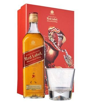 johnnie walker red label gift pack
