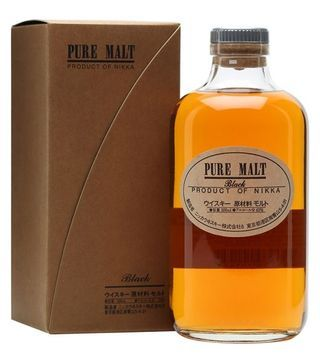 pure malt black Nikka whisky