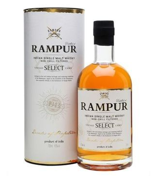 rampur select single malt Indian whisky