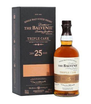 the balvenie 25 years triple cask
