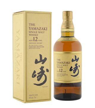 the yamazaki 12 years Japanese single malt whisky
